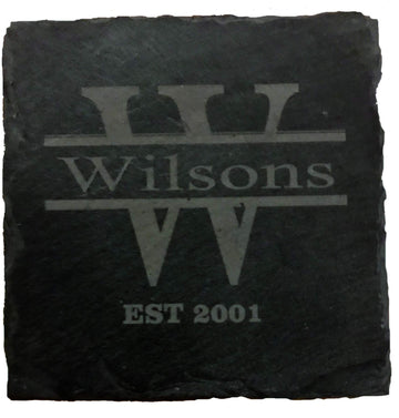 Personalised Slate Gifts any Name