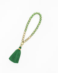 Emerald Ombré Prayer Beads