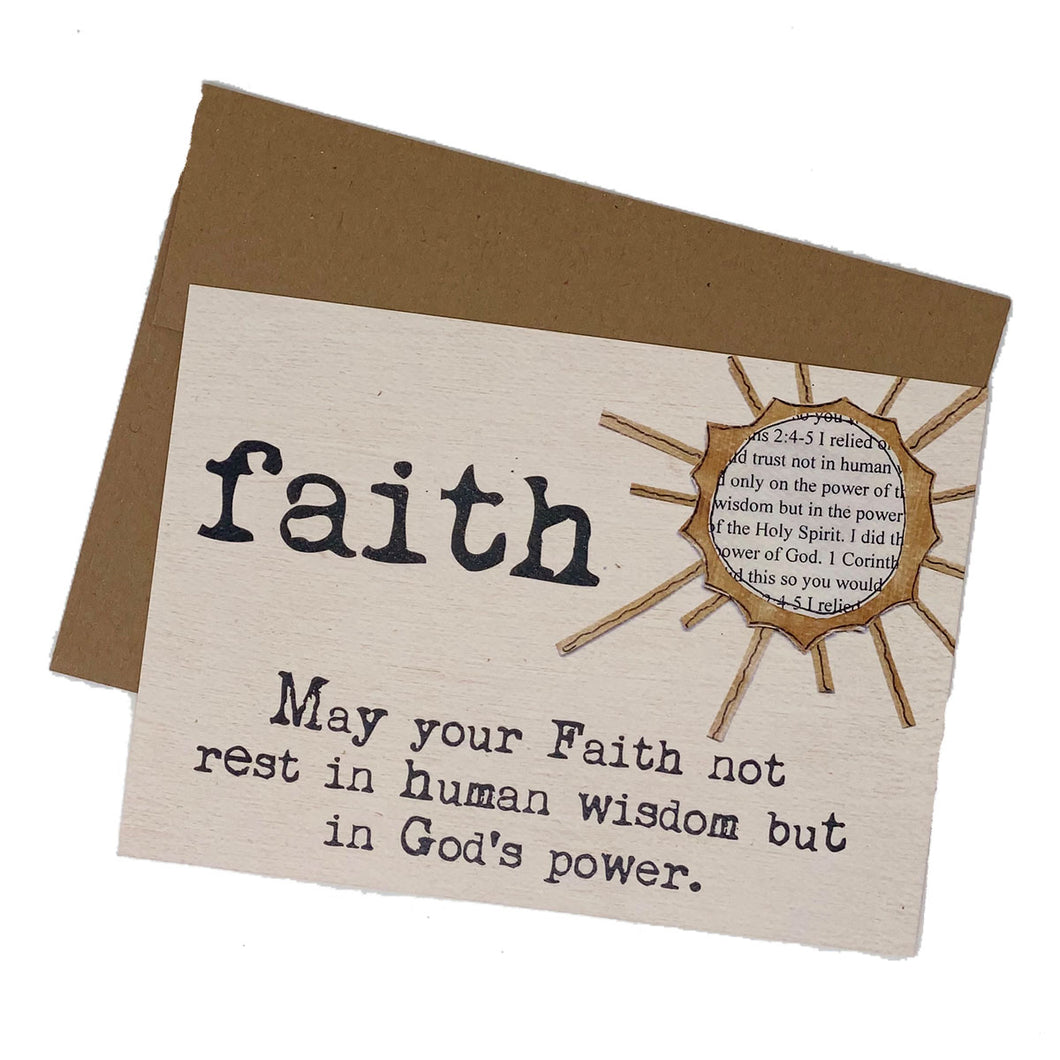 FAITH--God's Power