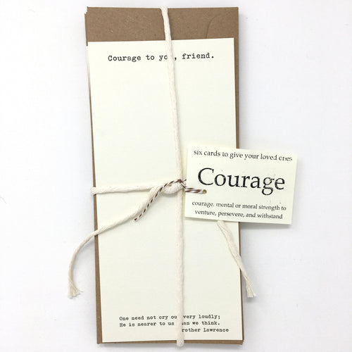 Courage to You 6-piece set (long and classic)