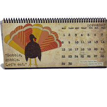 Load image into Gallery viewer, Filled with Gratitude TCFG 2021 Desk Calendar