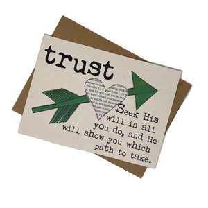 TRUST--He Will Show You the Path