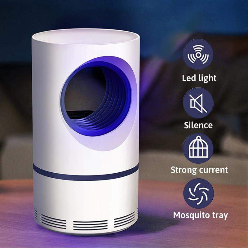 Mosquito USB Powered LED Killer Lamp Quiet + NON-TOXIC