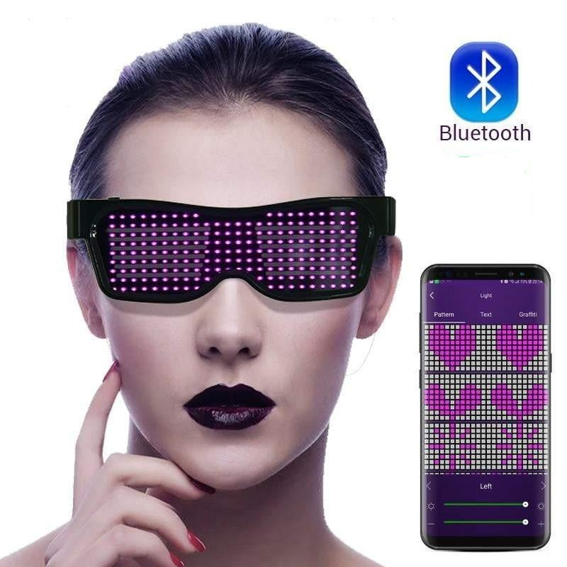 Led Glasses for Party - Bluetooth APP Controlled