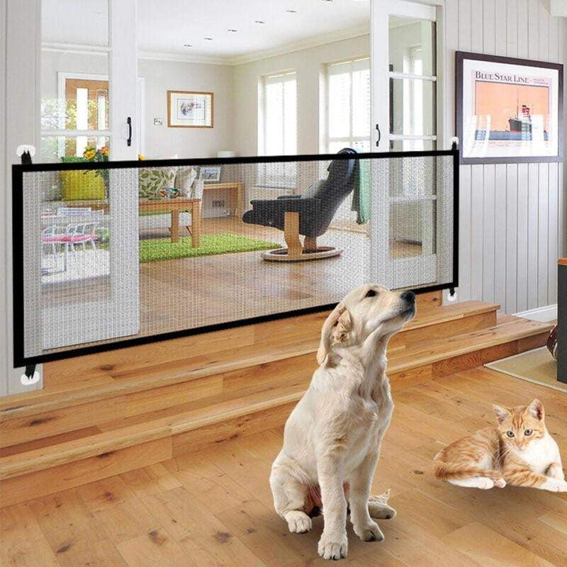 Portable Folding Magic Pet Gate