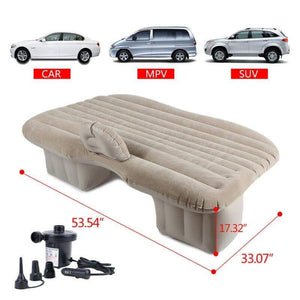 Portable Travel Car Mattress Air Bed with Pillow/Pump