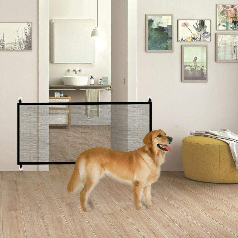 Portable Folding Magic Pet Gate - Dog Door