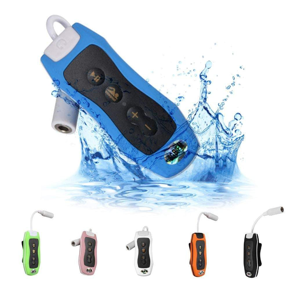 Waterproof 8GB MP3 Player for Swimming + FM Radio
