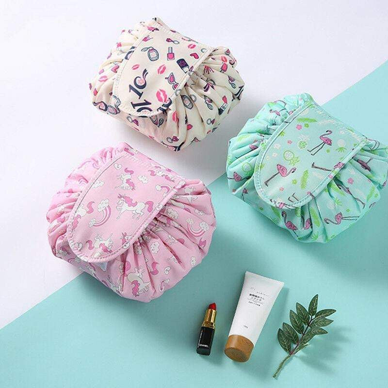 Quick Travel Makeup Bag
