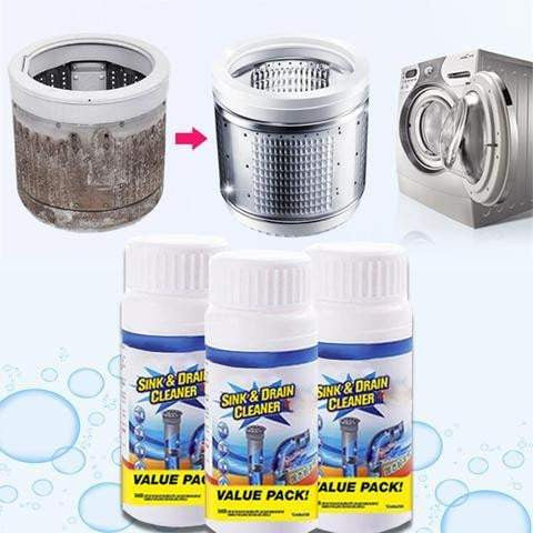 All-Purpose Quick Foaming Toilet Sink Drain Cleaner
