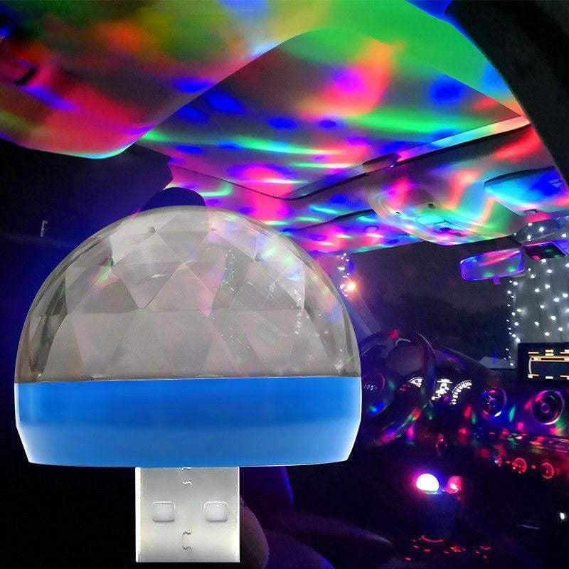 USB Mini Mushroom LED Music Light