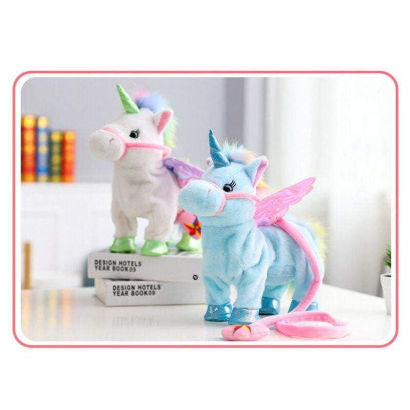 Walking & Singing Unicorn Plush Toy