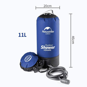 Outdoor Inflatable Portable Shower 11L