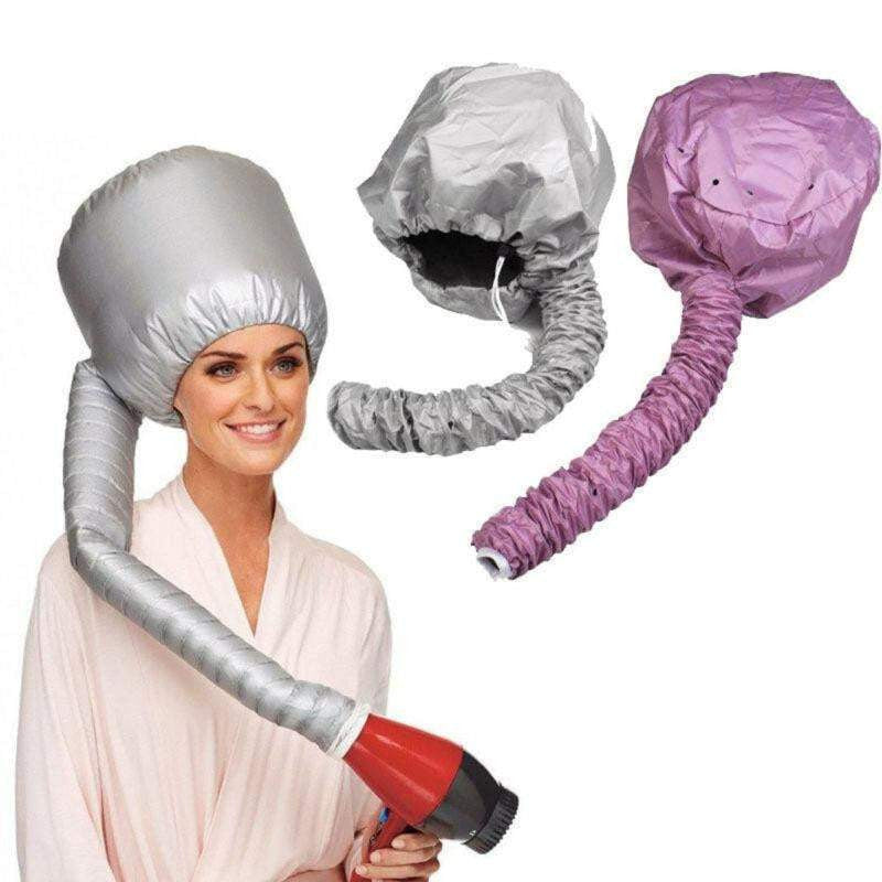 Portable Hair-Drying Cap