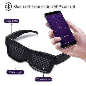Magic Bluetooth Led Party Glasses - APP Controlled