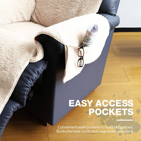 Recliner Chair Cover With Pockets