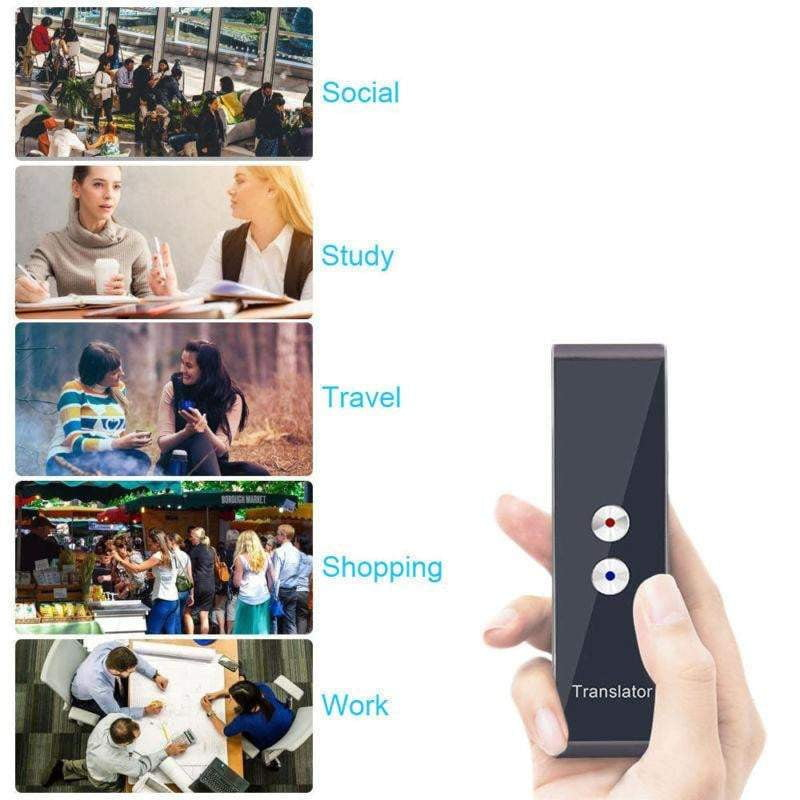 Smart Voice Translator Portable Real Time Travel Translator 68 languages