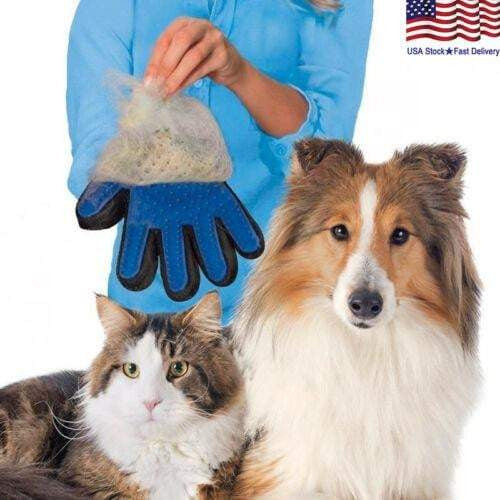 One Pair Pet Fur Hair Removal Glove