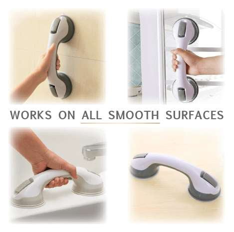 Anti-slip Bathroom Suction Grab Bars