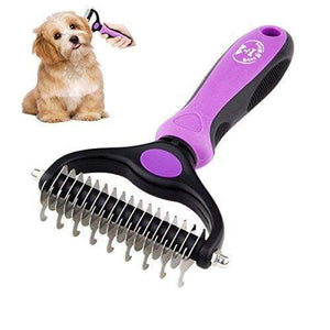 Pet Dematting Brush  Hair Knot Remover
