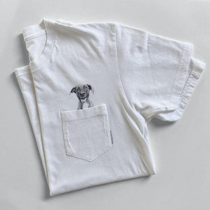 Pocket Tee (Add-On Item) - Perkie Prints