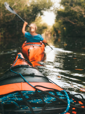 kayaking for fitness workout