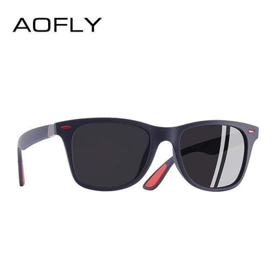 C5Matte Blue gray AOFLY Mens Polarized Sunglasses  -  Cheap Surf Gear
