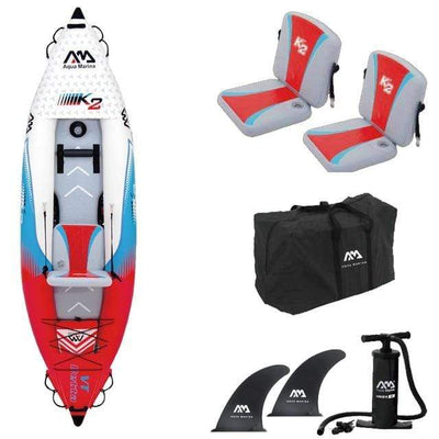 1 person (no paddle) AQUA MARINA Two Person Kayak  -  Cheap Surf Gear