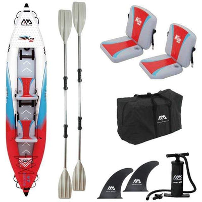 2 person x paddle A AQUA MARINA Two Person Kayak  -  Cheap Surf Gear