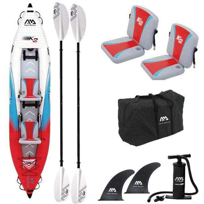2 person x paddle B AQUA MARINA Two Person Kayak  -  Cheap Surf Gear