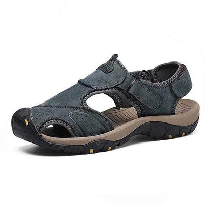 Blue 2 / 6.5 BAOLUMA Mens Black Sandals  -  Cheap Surf Gear