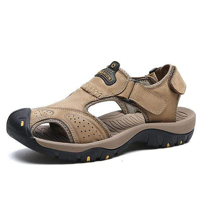 Khaki 2 / 6.5 BAOLUMA Mens Black Sandals  -  Cheap Surf Gear