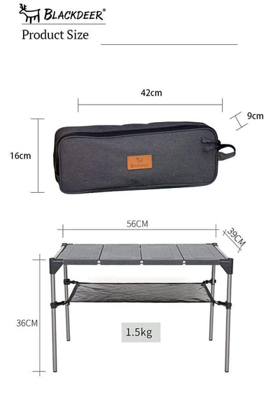 BLACKDEER Foldable Picnic Table  -  Cheap Surf Gear