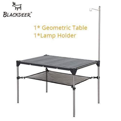 Add Lamp Holder BLACKDEER Foldable Picnic Table  -  Cheap Surf Gear