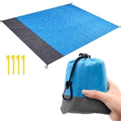 Blue blanket / 82 x 79 inch BSWOLF Best Beach Mat  -  Cheap Surf Gear