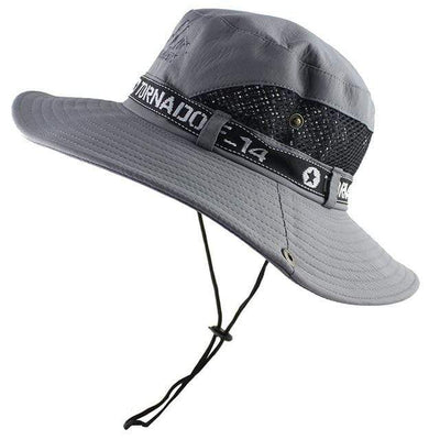 Gray CAMOLAND Mens Sun Protection Hat  -  Cheap Surf Gear