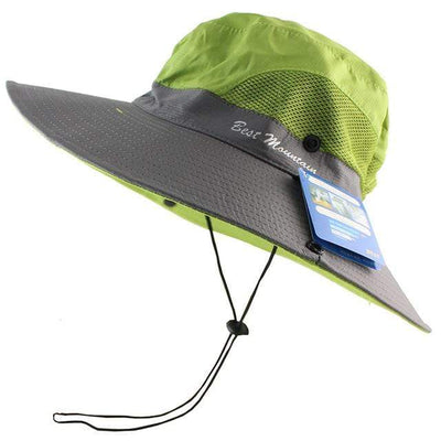 Green CAMOLAND Sun Hat  -  Cheap Surf Gear
