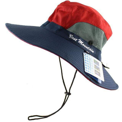 Red CAMOLAND Sun Hat  -  Cheap Surf Gear