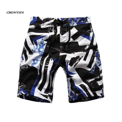 black-blue / Asian S CGS Boys Board Shorts  -  Cheap Surf Gear