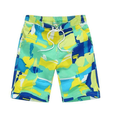 green / Asian S CGS Boys Board Shorts  -  Cheap Surf Gear