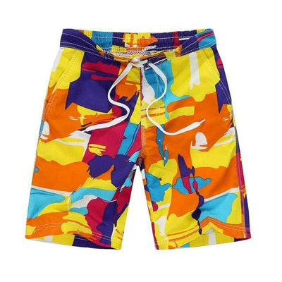 orange / Asian S CGS Boys Board Shorts  -  Cheap Surf Gear