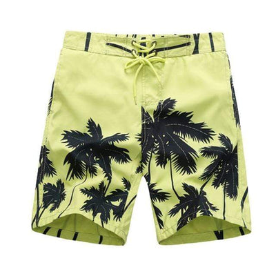 yellow-coconut / Asian S CGS Boys Board Shorts  -  Cheap Surf Gear
