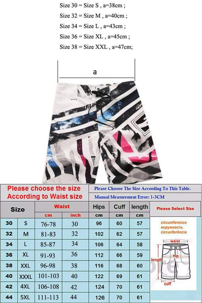 CHON YUN Mens Board Shorts  -  Cheap Surf Gear