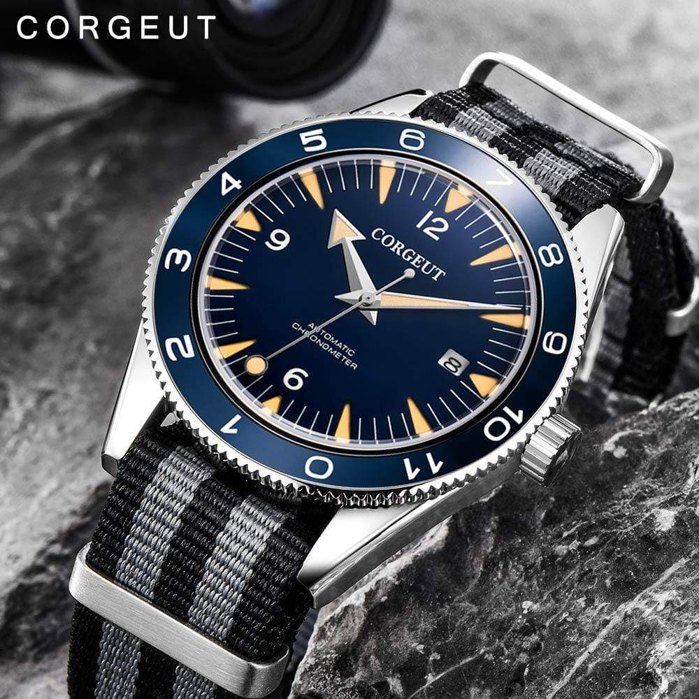 CORGEUT Best Diving Watch  -  Cheap Surf Gear