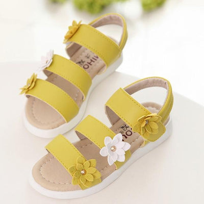 Yellow / 1 COZULMA Sandals For Girls  -  Cheap Surf Gear