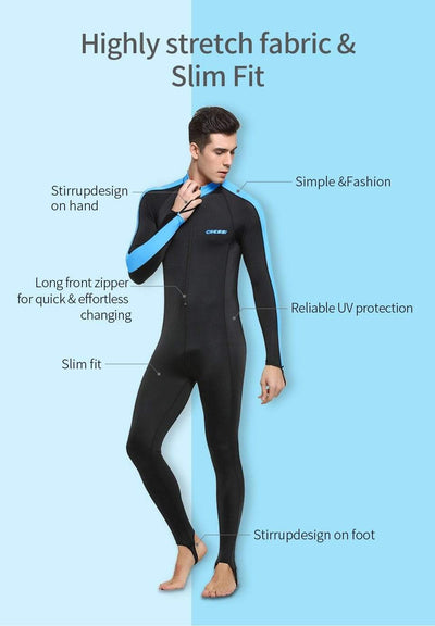 CRESSI Lycra Suit - Men / Women / Kids  -  Cheap Surf Gear