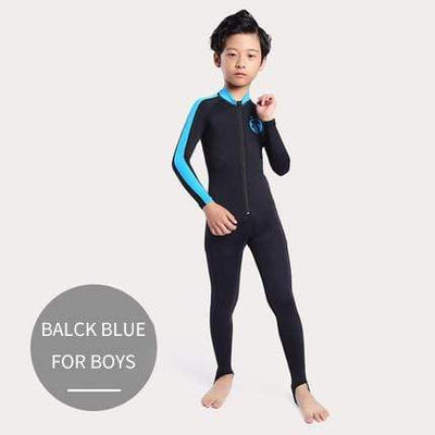 FOR BOYS black blue / S CRESSI Lycra Suit - Men / Women / Kids  -  Cheap Surf Gear