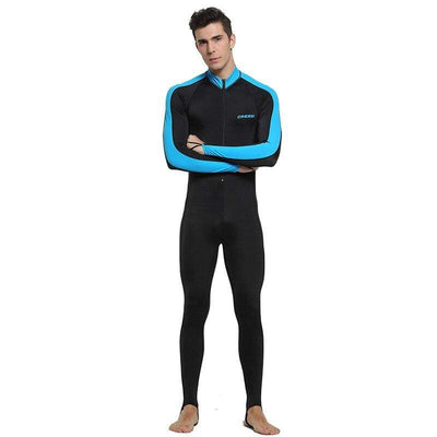Man Black Blue / S CRESSI Lycra Suit - Men / Women / Kids  -  Cheap Surf Gear