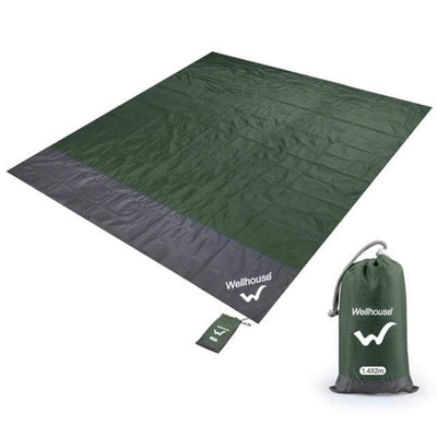 Army Green / L CSG Beach Mattress  -  Cheap Surf Gear