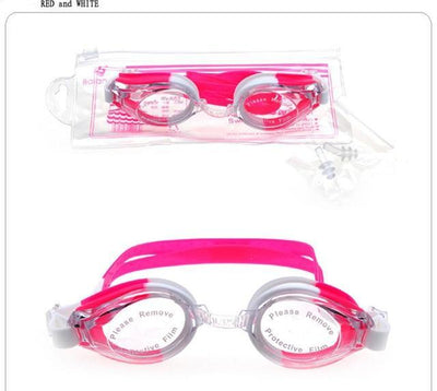 red white / China CSG Cheap Swimming Goggles  -  Cheap Surf Gear